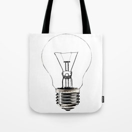 I Have an Idea!  Let there be light... Tote Bag