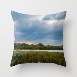 Magical Tulum Throw Pillow