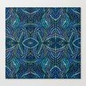 Blue Geometric Mosaic by marianrua