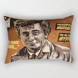 Columbo - TV Show Comic Poster Rectangular Pillow