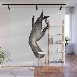 Symbolism Hand Wall Mural