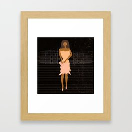 Paper Doll by Kimberly J Graphics Framed Art Print