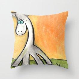 Gerry the Giraffe Throw Pillow