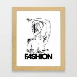 Fashion Model Framed Art Print