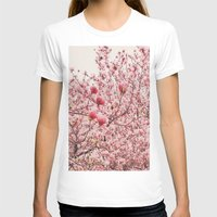 cherry blossoms T-shirts featuring Cherry Blossoms by Vivienne Gucwa