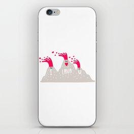 I Lava U iPhone Skin