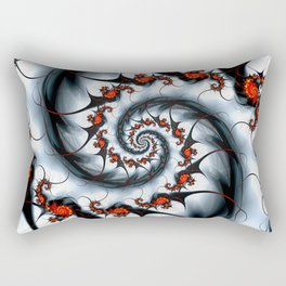 Fractal Art -Fire and Ice Rectangular Pillow