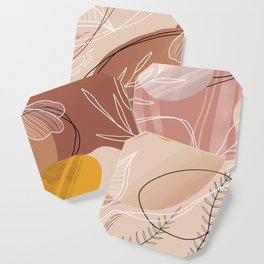 Abstract Peach Coaster