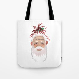 Lil Santa Claus Dropping the Hottest New Album Tote Bag