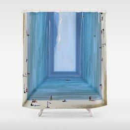 Sandbox Shower Curtain