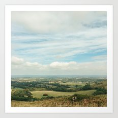 I Can See For Miles Art Print