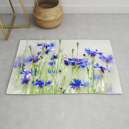 So Many Flowers. So Little Time. Rug