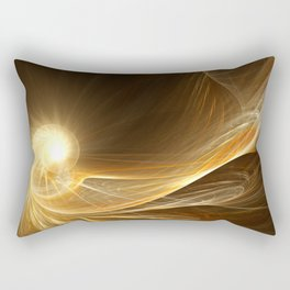 Golden Spiral Rectangular Pillow