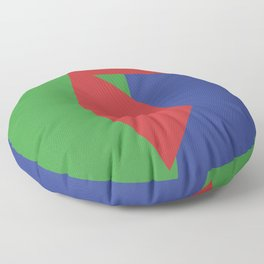 Minimalism Abstract Colors #19 Floor Pillow