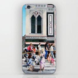 Entering the Duomo - Original Oil Painting iPhone Skin