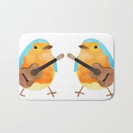 music bird Bath Mat