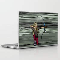 archer Laptop & iPad Skins featuring Archer by Natalie Easton