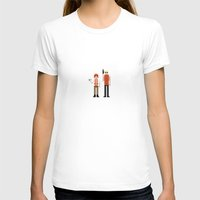 fifth element T-shirts featuring 8-bit Fifth Element by MrHellstorm