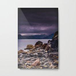 Elgol Beach Metal Print