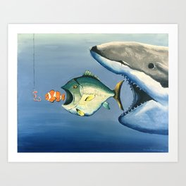 Fish Bait Art Print