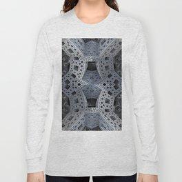 Fractal Art - spaceship drive Long Sleeve T-shirt