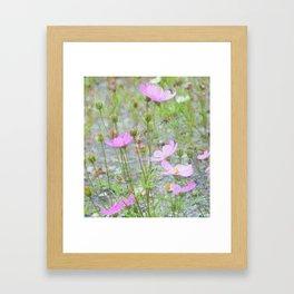 Wild Flowers in the Field Framed Art Print