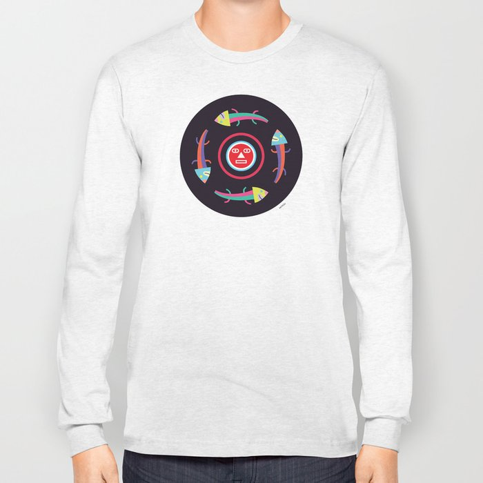Circles of Gators Long Sleeve T-shirt