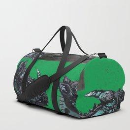 Rhinoceros on wheels Duffle Bag