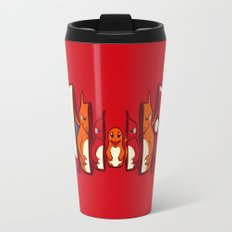Poketryoshka - Fire Type Travel Mug