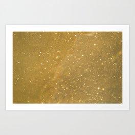 Gold Dust Art Print