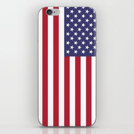 National flag of the USA - Authentic G-spec scale & colors iPhone Skin