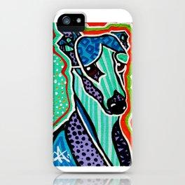 Willy Whippet Greyhound Saluki Italian Pharaoh Silken Manchester Fox Ibizan Designer Dog Puppy Pet iPhone Case