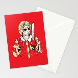 Clown Killer Stationery Cards