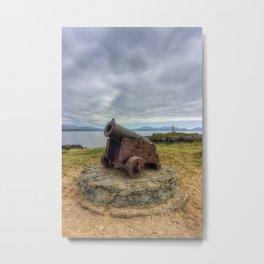 Llanddwyn Canon Metal Print