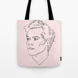 Harry Styles Drawing Tote Bag