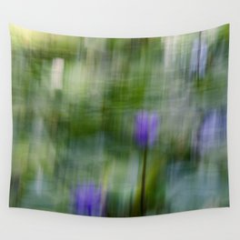 Tropical Impressionism (Purple Water Lily) Wall Tapestry