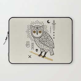 Hypno Owl Laptop Sleeve