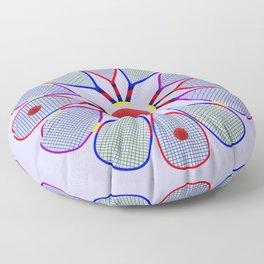 Racquetball Design Floor Pillow
