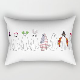 Spooky All Year Round Rectangular Pillow