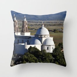 Southern Colorado Cathedral Throw Pillow
