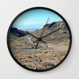 Mountains of Gran Canaria Wall Clock