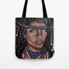 African Tribal Queen Tote Bag