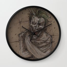 Face of Maddness Wall Clock