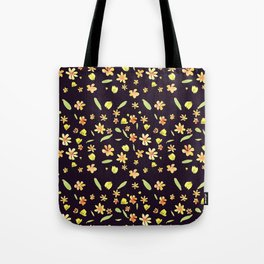 Yellow SPRING wild FLOWERS Tote Bag
