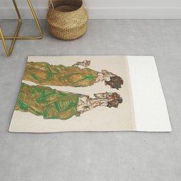 "Egon Schiele ""Devotion"" Rug"