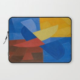 Otto Freundlich Komposition (Ca. 1932) Kunstmuseum Basel Colorful Geometric Art Laptop Sleeve