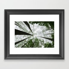 Stop and dream Framed Art Print
