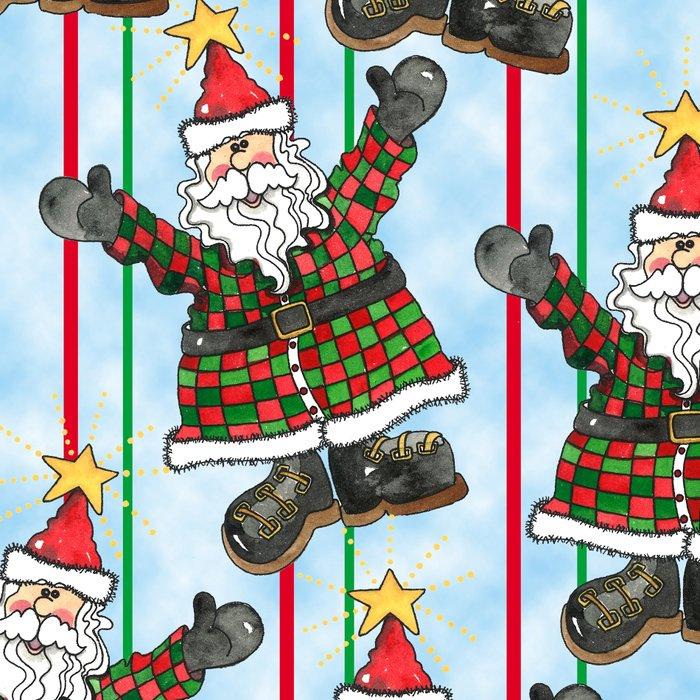 Santa Leggings