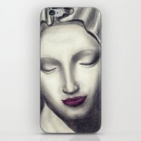 madonna iPhone & iPod Skins featuring Michelangelo Madonna  by augusta marya