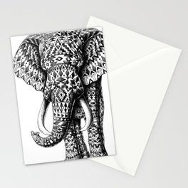 Tribal Elephant Stationery Cards